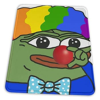 Honk Honk Clown World Pepethefrog Red Nose APU Apustaja The Kekistan Wall Eyed P Electronic Sports Office Gaming Learning Rubber Non-Slip Mouse Pad