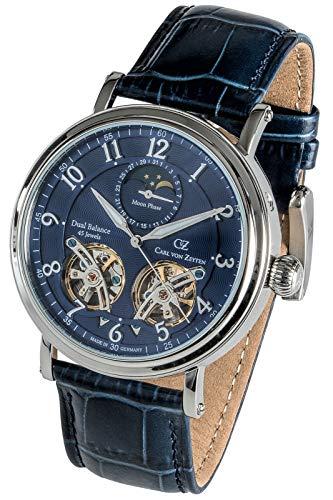 Carl von Zeyten Klassische Uhr CVZ0054BL