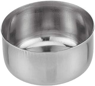 Raj Rimless Steel Bowl, Silver, 5 cm, SV0003