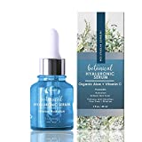 Zone - 365 Hyaluronic Acid Serum for Face with Vitamin C, E, and Aloe for Intense Moisture and Hydration Formula - 1 fl oz