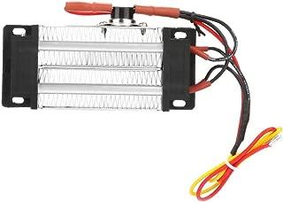 PTC Air Heater PTC Ceramic Air Heater, 110V 200W/300W Insulated PTC Ceramic Aluminum Tube Air Heater Heating Element, Insulated Ceramic PTC Heater (110V300W)