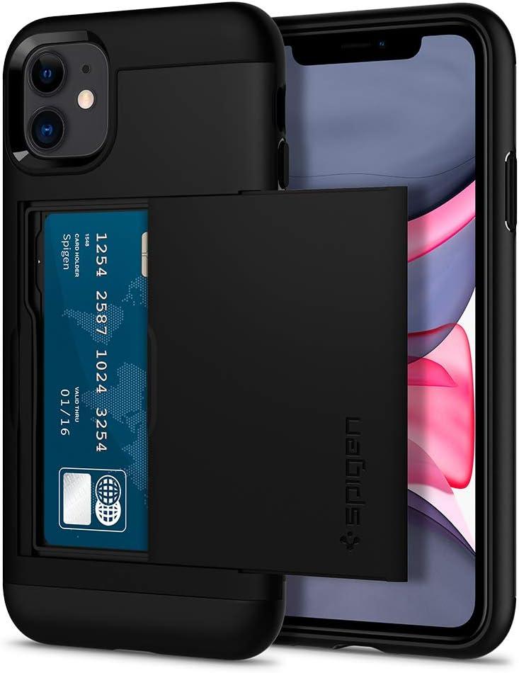 Spigen Slim Armor CS Designed for iPhone 11 Case (2019) - Black