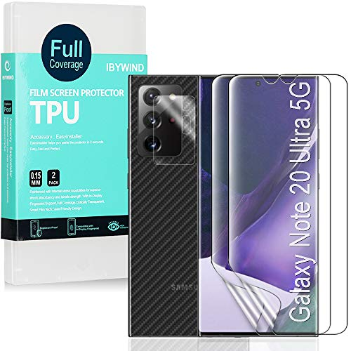 Ibywind Protector de Pantalla para Samsung Galaxy Note 20 Ultra 5G [2...