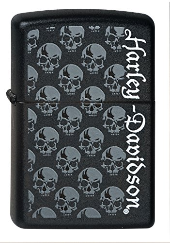 Zippo Zippo 2000750 Nr. 218 Harley-Davidson Skulls Schwarz