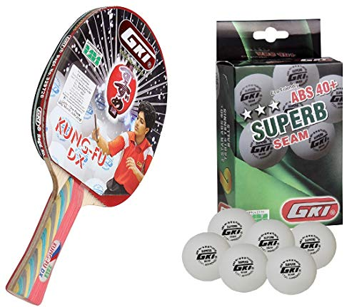GKI Kung Fu DX Table Tennis Racquet Combo Set