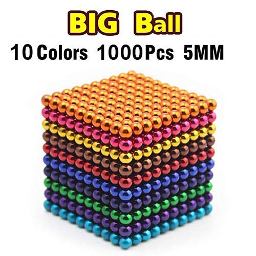 DOTSOG 1000 Pieces 5mm Sculpture Building Blocks Toys for Intelligence DIY...