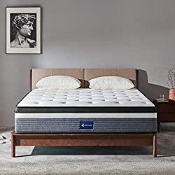 Ssecretland Mattress:Pocketed springs technology individually wraps each spring so they continue to provide strength and support on their own, giving you a firmer feel.working to evenly distribute your weight while aligning all parts of your body, ca...