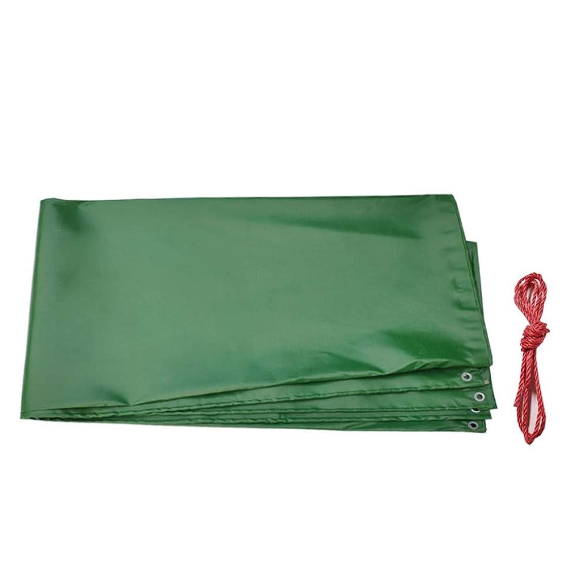 バッフル羽ウサギLIANGJUN サンシェードテント?タープ 荷台用サンシェード 防雨 絶縁 カバー 厚くする 縁 パンチング 耐摩耗性 アウトドア 庭園 工場、 緑 500g /m2 (Color : A, Size : 5.8mx7.8m)