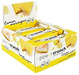 Bionutritional Research Group Power Crunch Protein Energy Bar, Lemon Meringue, 12 Count (16.8oz) (480G)