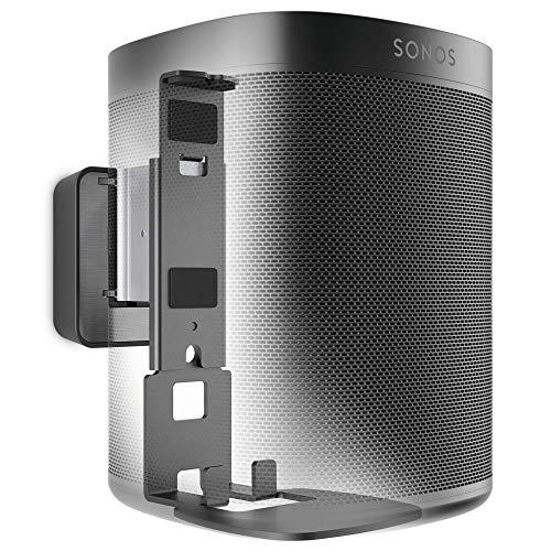 Vogel's SOUND 4201 Soporte de pared para Sonos One (SL) y Play:1, Máx. 5 kg, Inclinable -30º/+30º, Girar hasta 70º, Negro