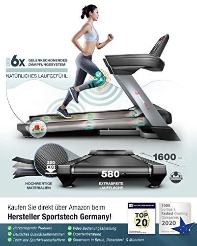 Profi Laufband Sportstech F75 High-End Bild 2*