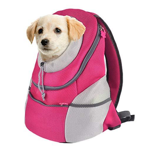 ZYC-WF Nuestra Bolsa de Mascotas PortáTil Transparente para Gatos Y Perros Es una Bolsa de Gato Transpirable para el Espacio Amazon Mochila de Doble Hombro para Mascotas El DiseñO T
