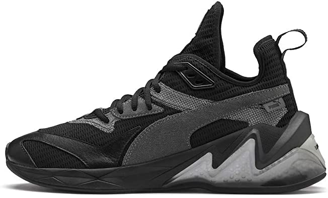 PUMA Mens LQDCELL Origin Leather Mid Top Fashion Sneakers