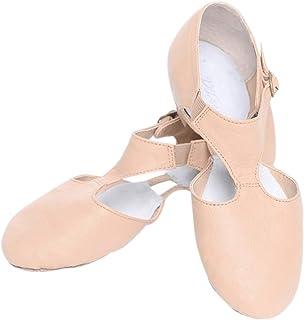 Zapatos de Baile para Mujeres - Zapatillas de Tacón Jazz Latino Deportivo Tango Tap Salsa