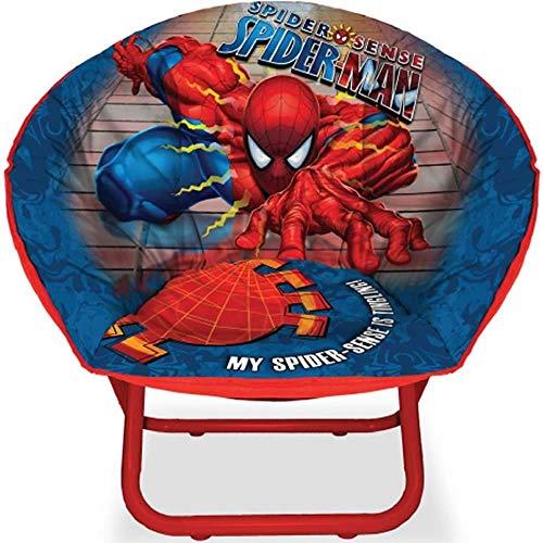 Spider-man Spider Sense Kids Ultrasoft Mini Folding Saucer Chair by Marvel
