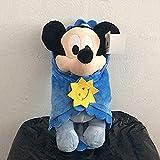 N-L Lindo bebé Mickey y Mouse con Manta Peluchesmickey Mouse Baby Soft Kids Dollfor Niños Los Mejores Regalos 1Pcs (28Cm) Toy