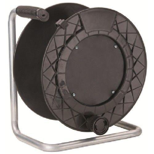 Kabeltrommel \'leer\' ohne Kabel und ohne Steckdosen. Kapazität von Aufrollen: Kabel 3x 2,5> 4,5bis 30Meter, Kabel 3x 1,5bis zu 50Meter.
