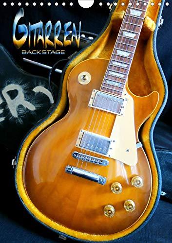Gitarren backstage (Wandkalender 2021 DIN A4 hoch)