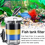 Fish Tank Front Filter Plastic Aquarium Canister Filter Transparent Filter Bucket Water Quality