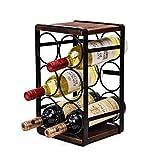 Tinyuet Estante de Vino de Encimera, Estantería de Botellas de Vino para...