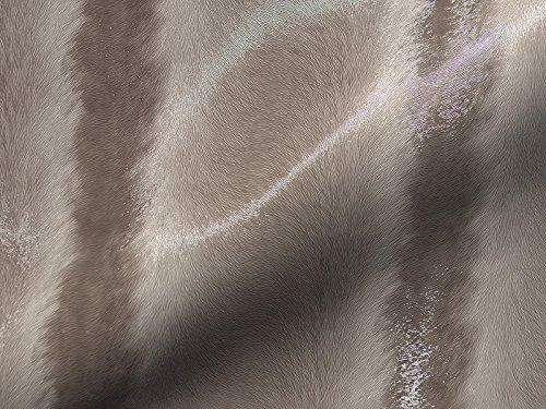 Lederhandel.com Piel sintética ignífuga Tokyo 317, color beige, funda de tela, tela de tapicería adecuada para el salón y el área de objetos.