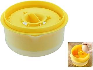 Egg yolk separator, unique egg white and egg yolk filter, DIY handmade dessert kitchen baking accessories 6 egg yolk separ...
