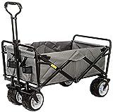 Beach Carts, Handcart Foldable, 80 Kg Load Capacity, 7 Inch Offroad Wheels, Adjustable