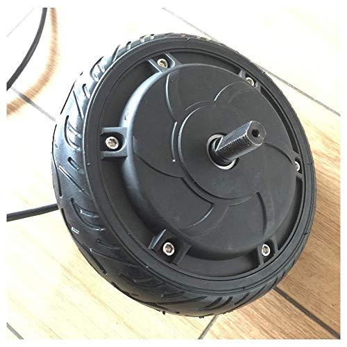 Accesorios de Scooter eléctrico, Motor de 36 V CC de 6-6,5 Pulgadas, Freno electrónico, Equipado con neumáticos Antideslizantes adecuados para el reemplazo del Motor de accionamiento de scoo