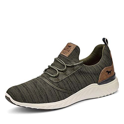 MUSTANG Shoes Halbschuhe in Übergrößen Grün 4132-301-777 große Herrenschuhe, Größe:50