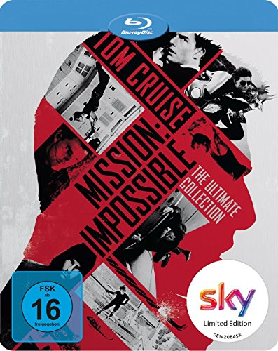 Mission Impossible 1-5 (inkl. Rogue Nation)[Blu-Ray] limited Steelbook (geprägt)