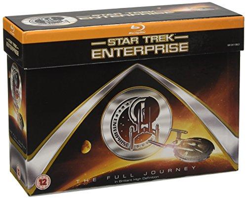 Star Trek: Enterprise - Blu-Ray Box Set (24 Blu-Ray) [Edizione: Regno Unito] [Reino Unido] [Blu-ray]