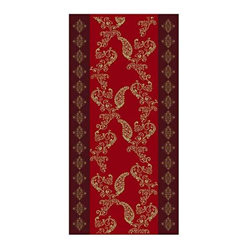 Bassetti Toalla de Mano, Rojo, 50 x 100 cm