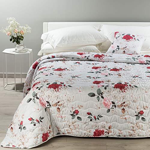 Caleffi Couvre-lit matelassé pour lit double