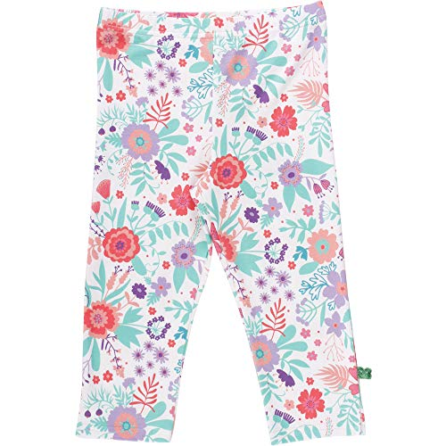 Fred'S World By Green Cotton Aloha 3/4 Leggings, Multicolore (White 011060102), 92 Bébé Fille