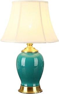 Lampe de table Lampe de la lampe de céramique de campagne américaine Chambre à coucher Chambre à coucher Chambre à chevet ...
