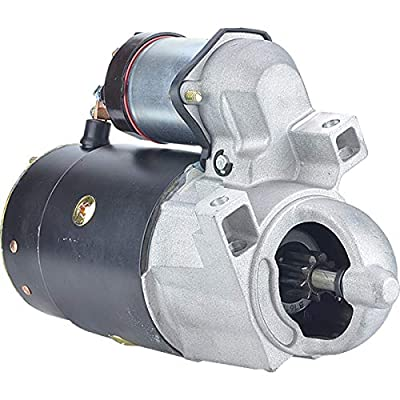 New DB Electrical 410-12590 Starter Compatible With/Replacement For Crusader 229 1980-1988, 5.0 1977-1995, 5.7 1977-1995, Mercruiser Model 110 1963-1966, Model 120 1964-1989 50-32703, 50-45120, 3550N