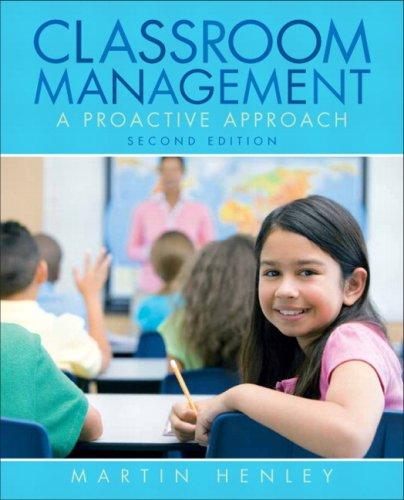 Classroom Management: A Proactive Approach