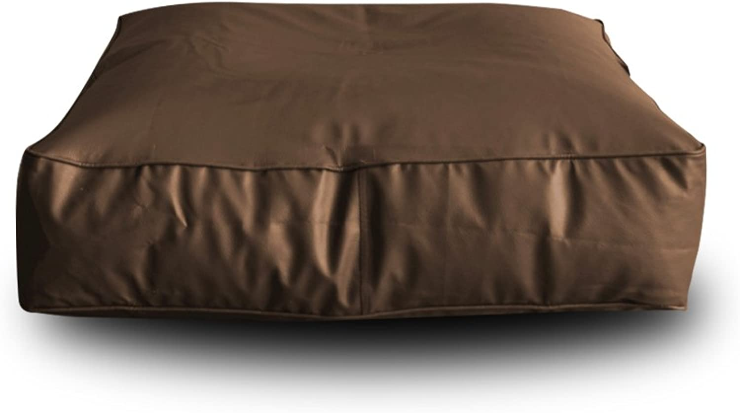 Style Homez Square Floor Cushion XL Size Chocolate Brown color Cover Only