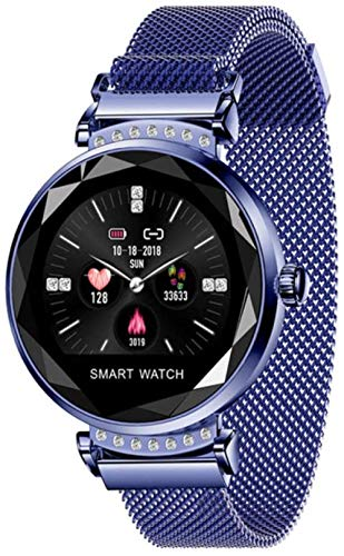 Pulsera inteligente Bluetooth inteligente pulsera deportiva reloj de fitness -azul a