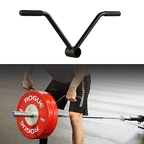 YCMY Einhändig T Bar Row Langhanteltrainer Dead Lift Langhantel Bar Griff Rudergriff Landminengriff Für Gewichtheben Krafttraining (T-Bar-Rudern/T-Bar Row)