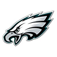"Fremont Die NFL Shop Authentic 12"" Magnet Team Banner Helmet/Logo (Philadelphia Eagles Logo)"