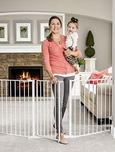 Regalo 76 Inch Super Wide Configurable Baby Gate