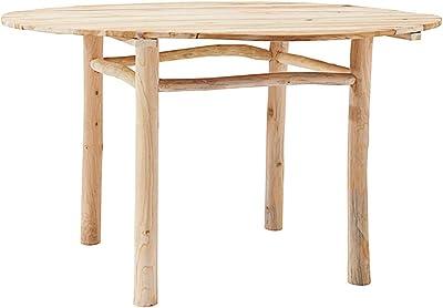 House Doctor Table de Salle à Manger Nature 130 x 130 cm