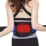 QUICK WIN Heating Waist Belt/Lower Back Heat Therapy Wrap/Massage Lose Weight Heated Belt,Stomach