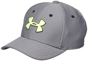 Under Armour Little Boys' Baseball Hat, Graphite1, 4-6