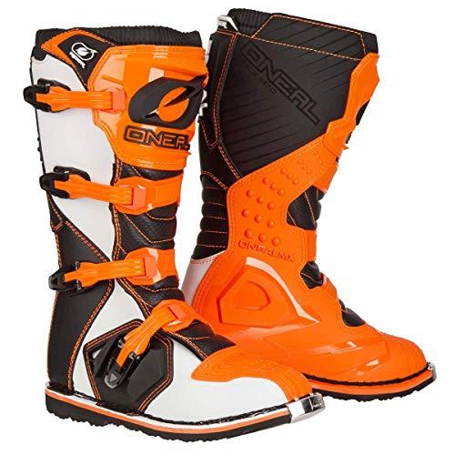 O'Neal Rider Boot MX Stiefel Orange Moto Cross Motorrad Enduro, 0329-3, Größe 45 - 3