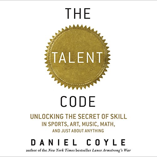 The Talent Code audiobook cover art