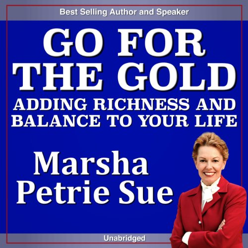 Go for the Gold audiobook cover art