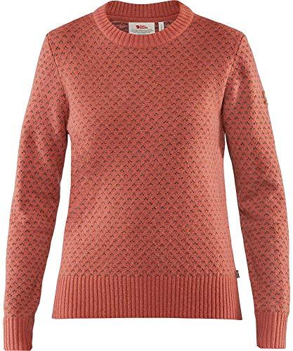 FJALLRAVEN Damen Övik Nordic Sweater W Trikot, Terracotta pink, XXS