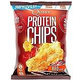 プロテイン チップス(Protein Chips) バーベキュー味 8袋セット [並行輸入品]